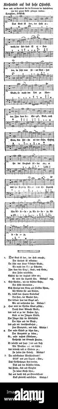 Held der melodie grab das ist leer erwacht Kirchenlieder