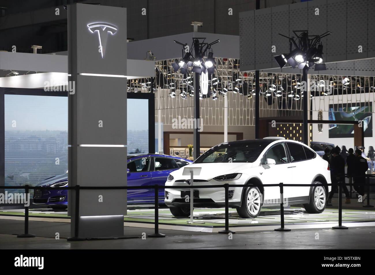 Tesla China Stock Photos & Tesla China Stock Images - Alamy