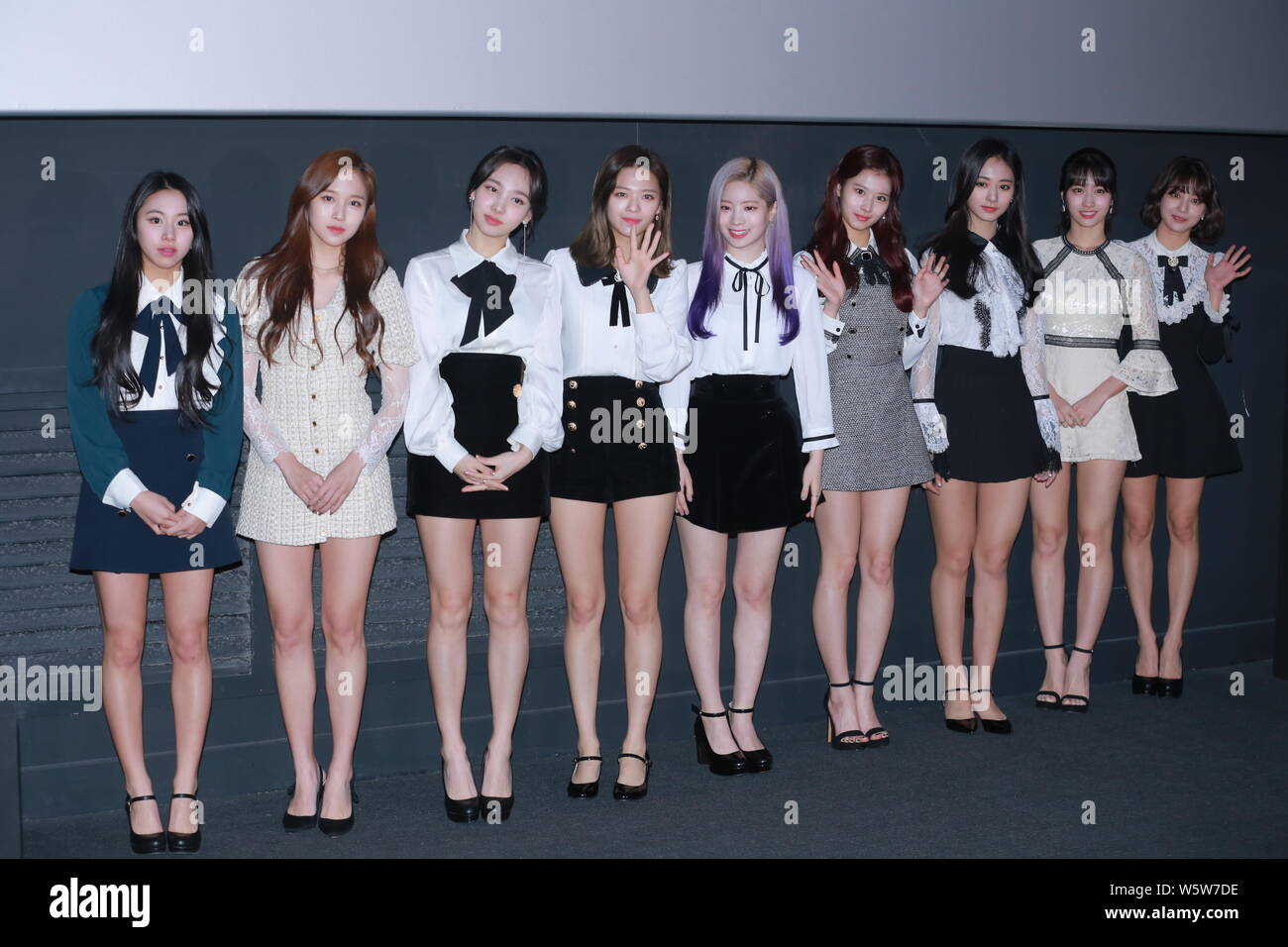 members of south korean girl group twice pose as they attend a press conference for the movie twiceland in seoul south korea 6 december 2018 stock photo alamy https www alamy com members of south korean girl group twice pose as they attend a press conference for the movie twiceland in seoul south korea 6 december 2018 image261783466 html