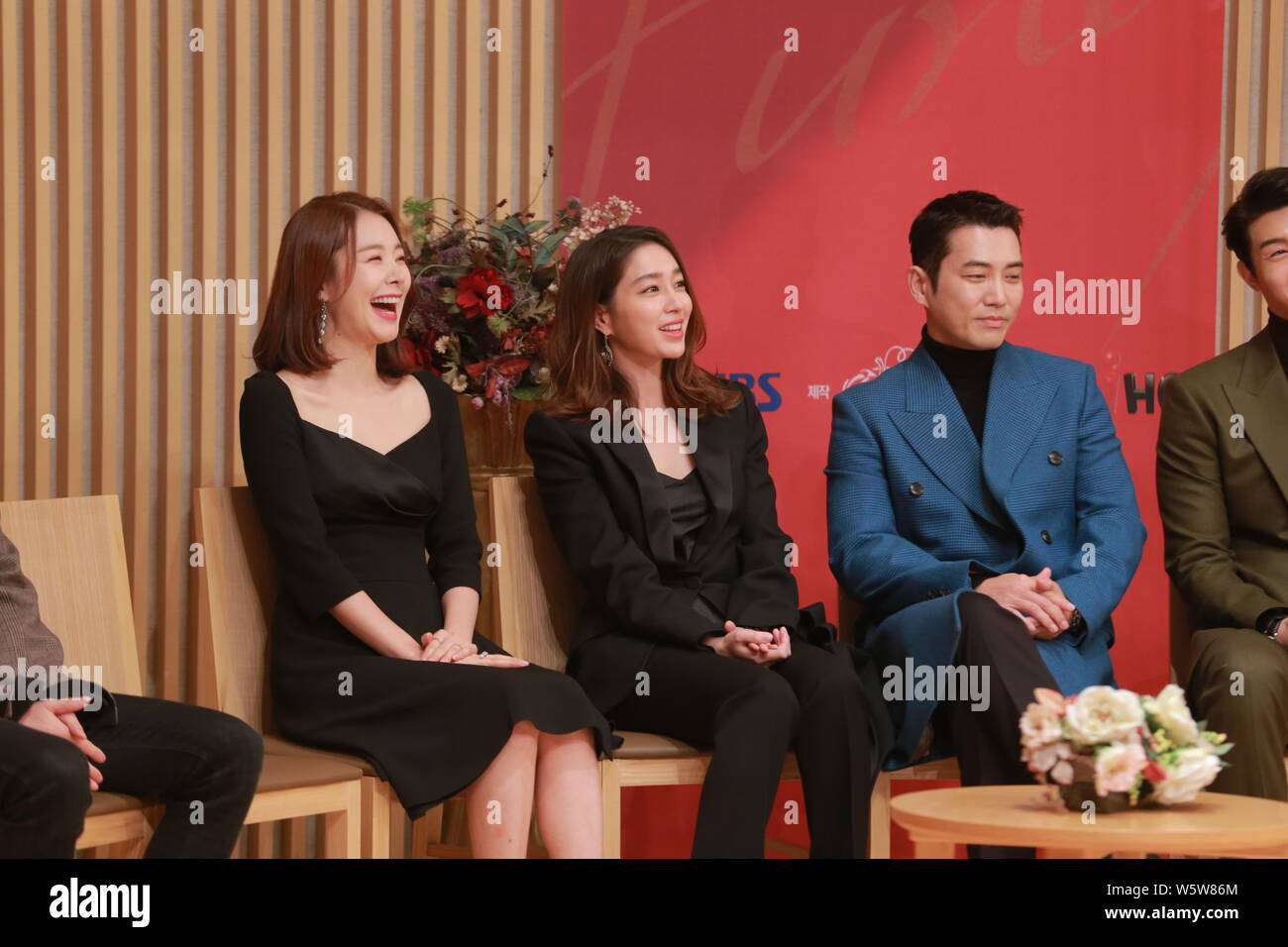 South Korean Actress Lee Min Jung Center Attends A Press