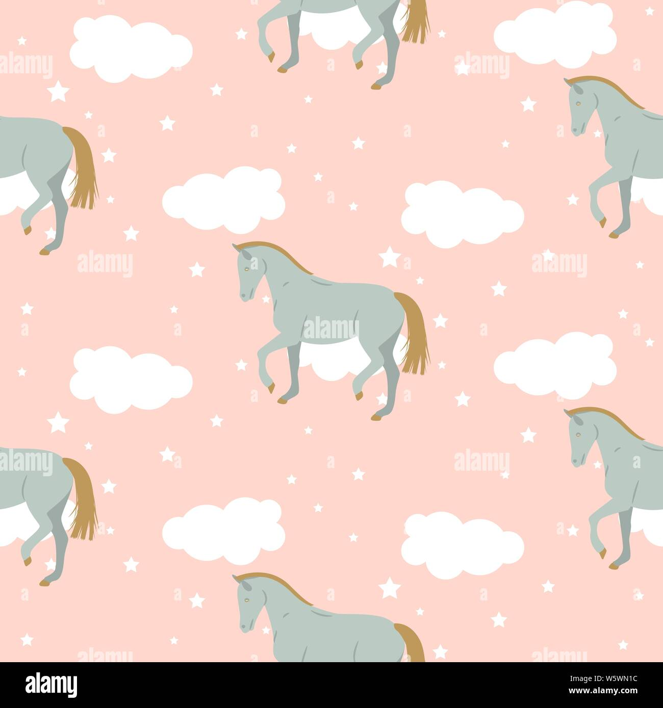 Pastel Horse Art High Resolution Stock Photography And Images Alamy
