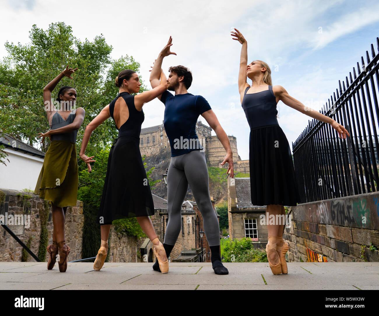 Ballet Dancers L R Stock Photos & Ballet Dancers L R Stock
