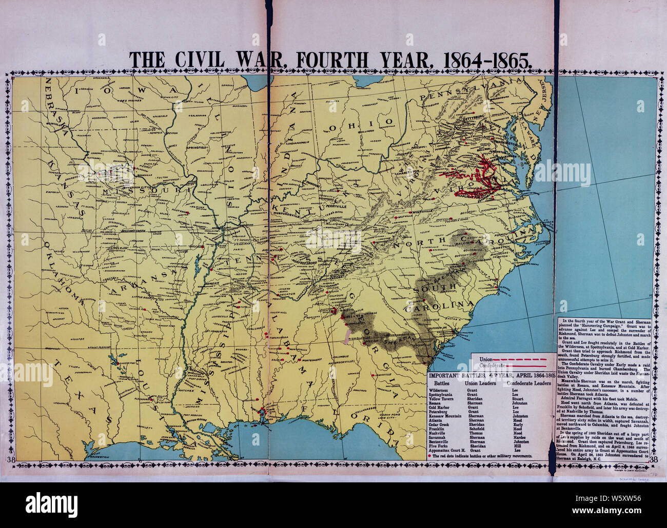Civil War Maps 1113 McConnell\'s Historical maps of the ...