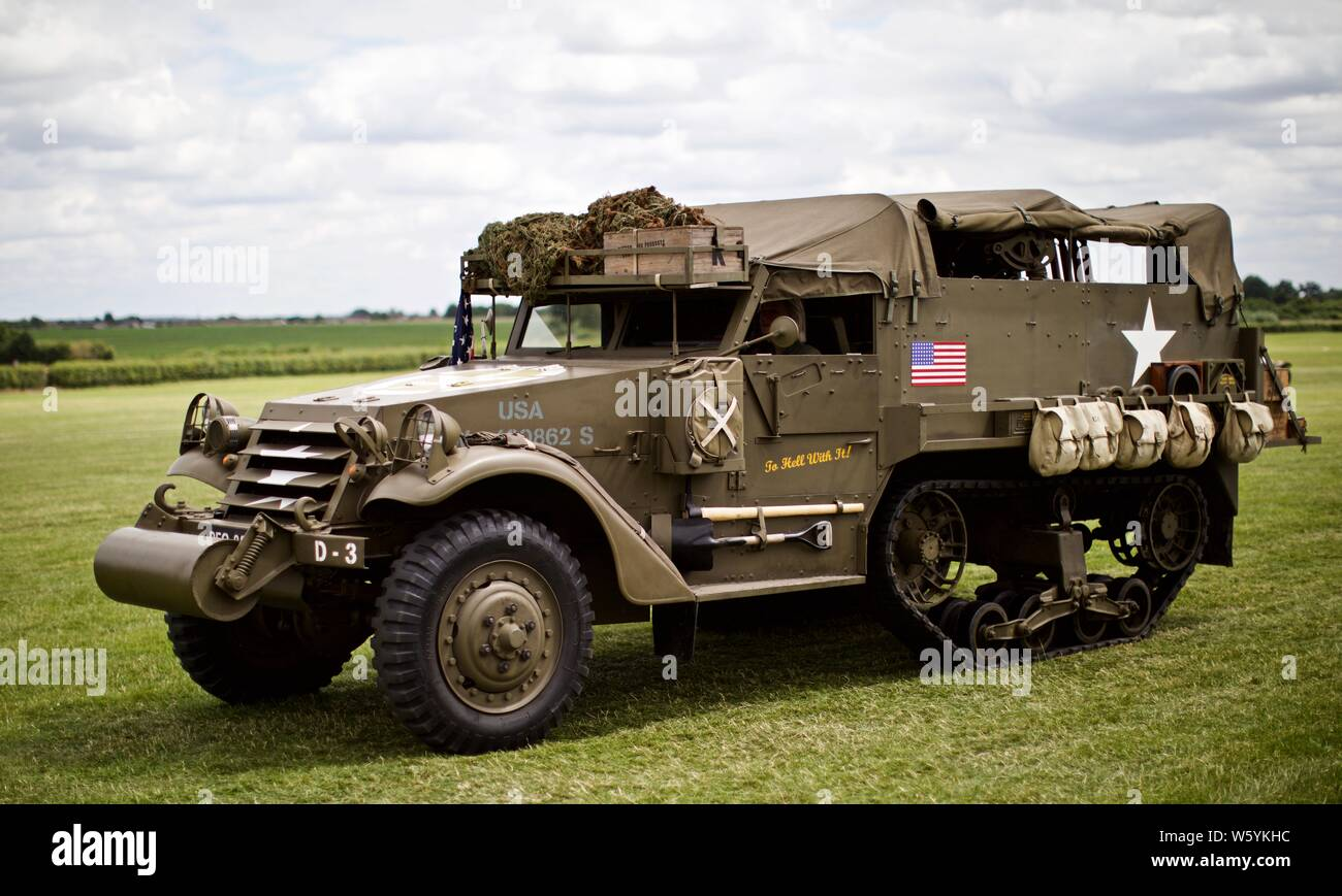 Half Track Vehicle Stock Photos & Half Track Vehicle Stock