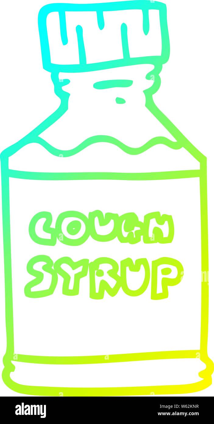 cough syrup funny high resolution stock photography and images alamy https www alamy com cold gradient line drawing of a cartoon cough syrup image261902867 html
