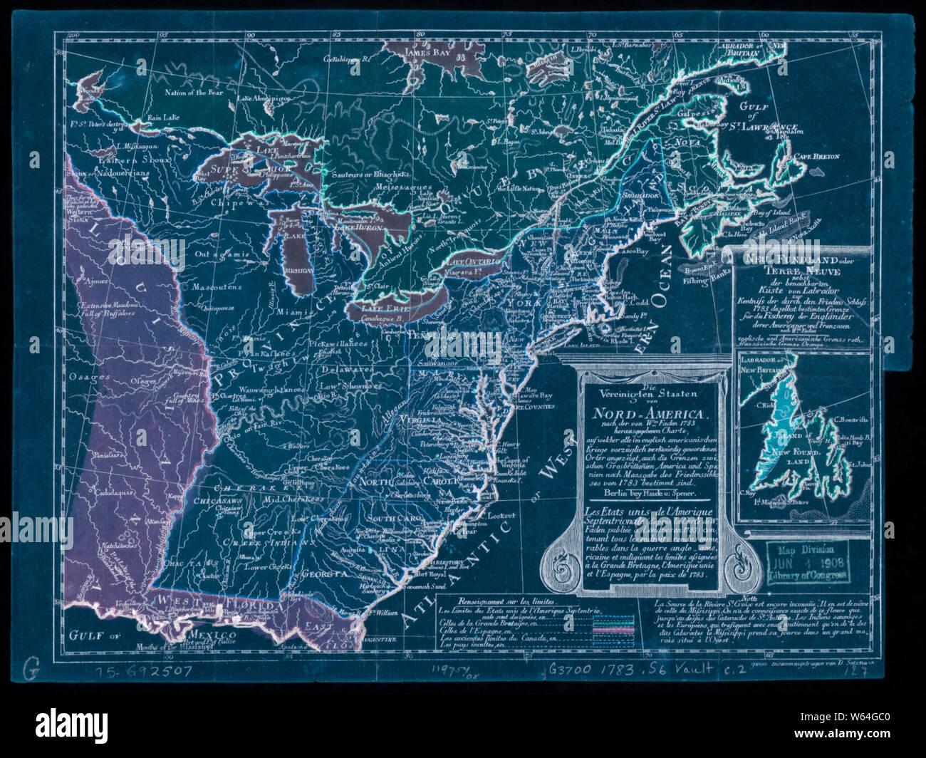 American Revolutionary War Era Maps 1750-1786 514 Die ...