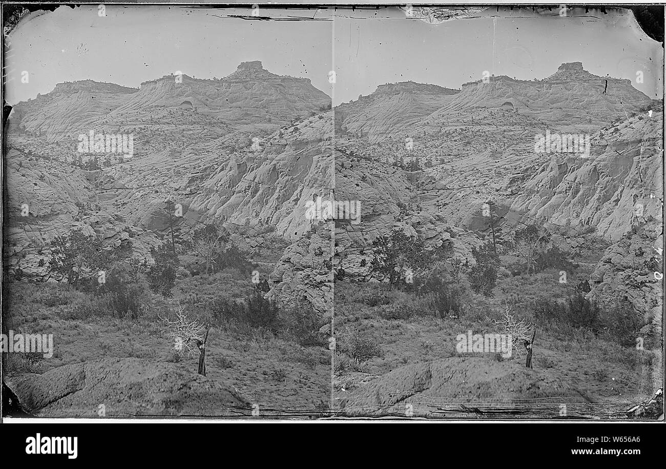 Escalante Creek. Waterpocket Canyon, similar to 583 but is better photo. Old nos. 335, 384, 710. Stock Photo