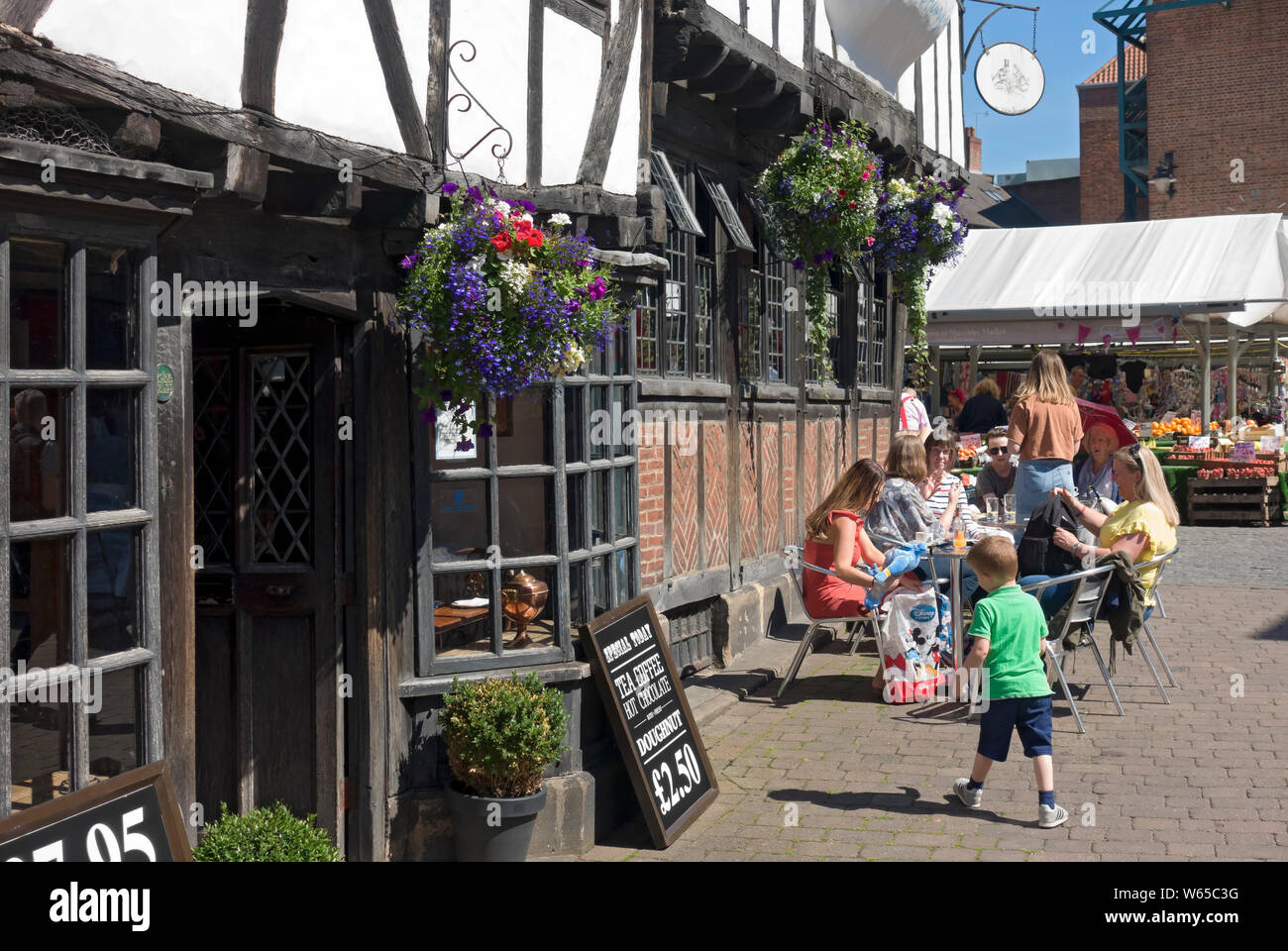 Gert & Henry's restaurant in the city centre York North Yorkshire England UK United Kingdom GB Great Britain Stock Photo
