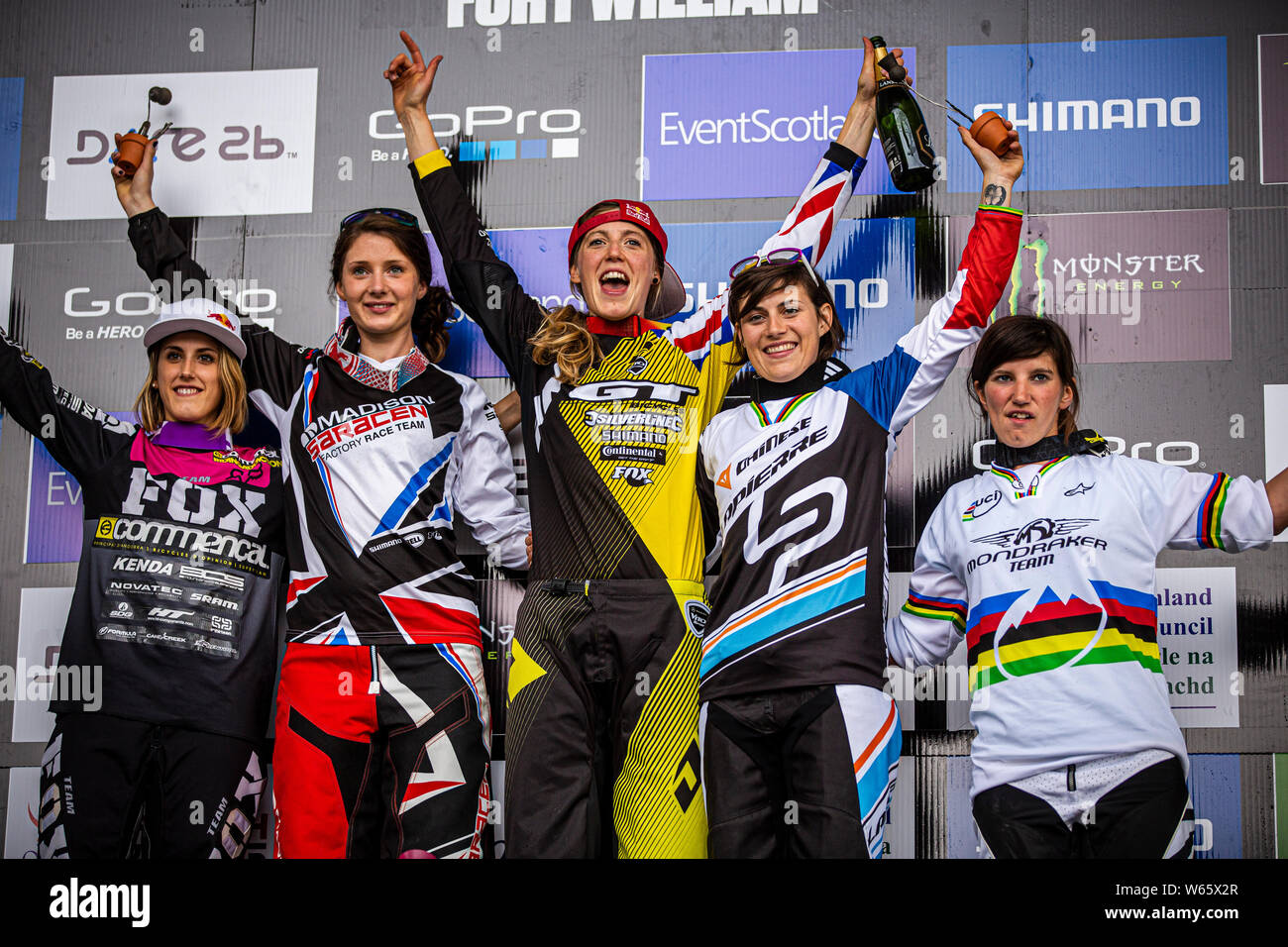 JUNE 9, 2013 - FORT WILLIAM, SCOTLAND  UCI MTB DH World Cup