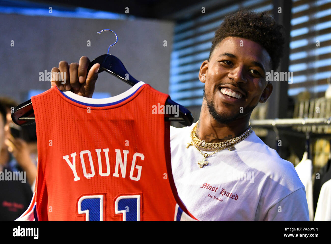 size 40 9fac6 50030 NBA star Nick Young, nicknamed