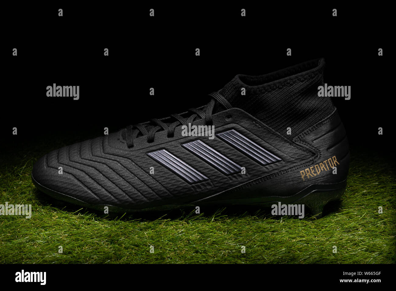 Adidas Football Boots High Resolution Stock Photography And Images Alamy