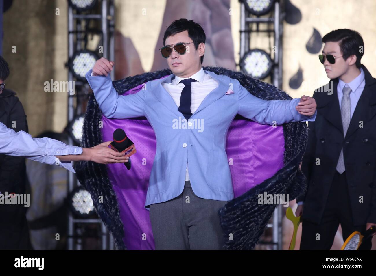 File Chinese Actor Shen Teng Attends A Press Conference For His Comedy Film Hello Mr Billionaire In Beijing China 11 June 2018 By Far The B Stock Photo Alamy