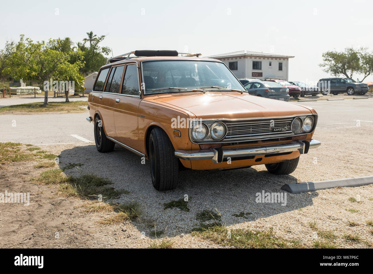 Old Datsun Stock Photos & Old Datsun Stock Images - Alamy