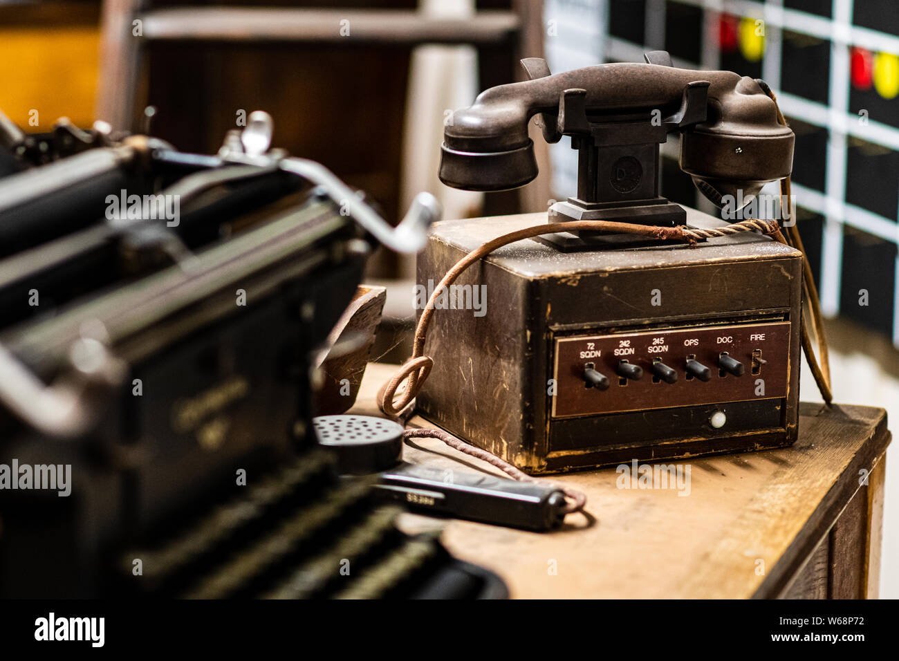 Switchboard Vintage Stock Photos & Switchboard Vintage Stock Images on