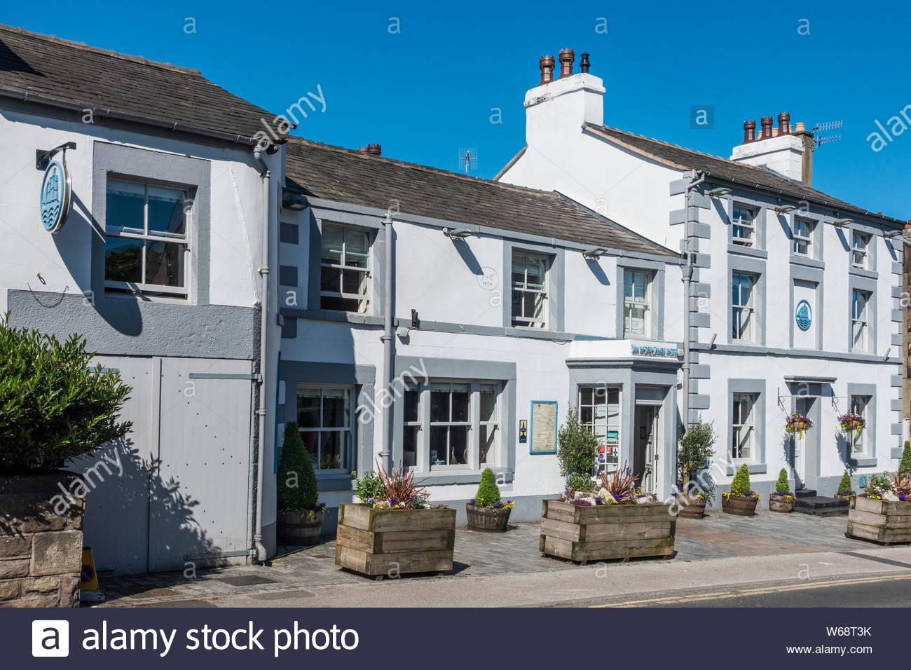 The Morecambe Hotel in Lord Street, Morecambe, Lancashire, England, UK Stock Photo