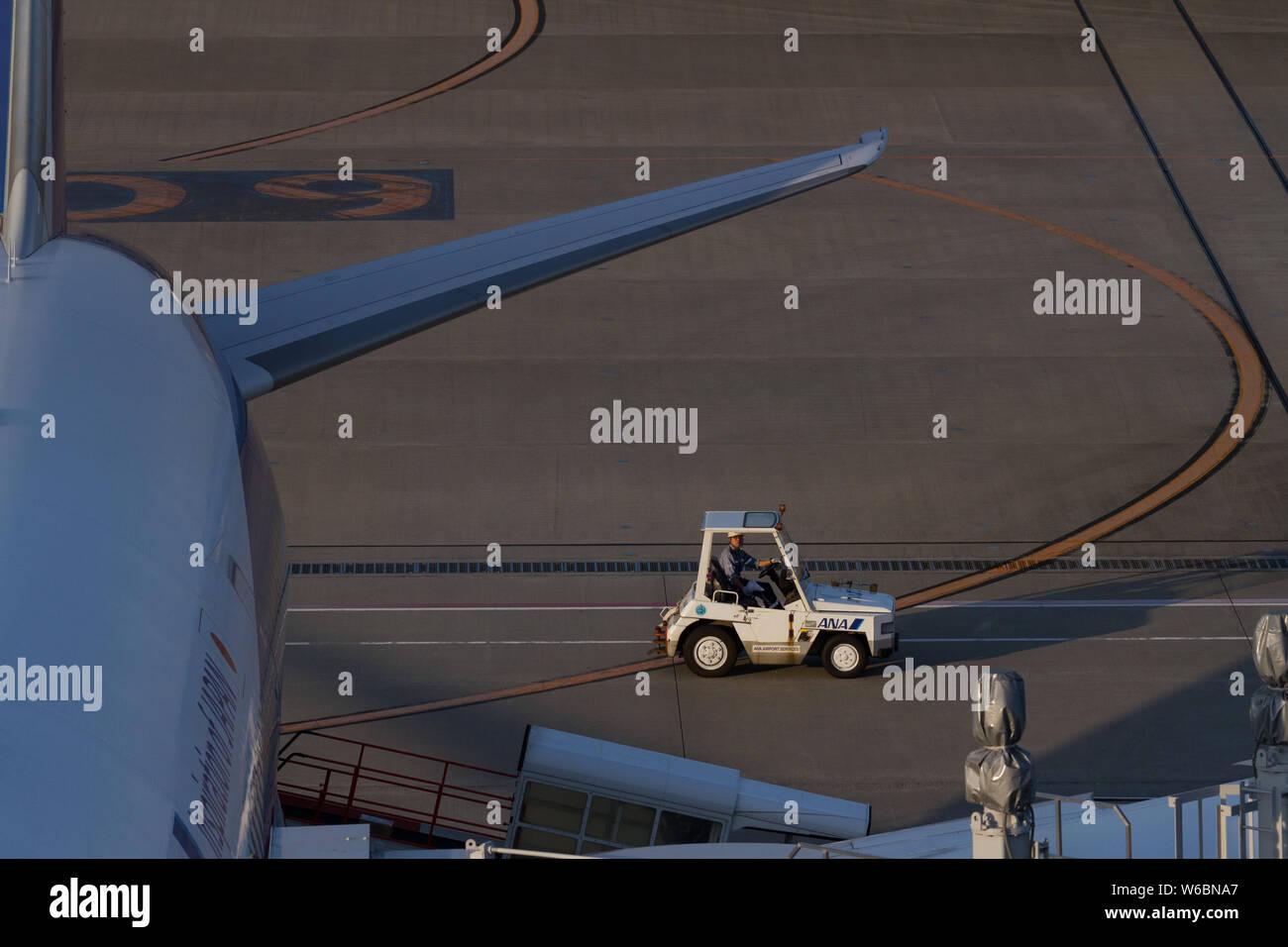 Airport Ground Staff Stock Photos & Airport Ground Staff