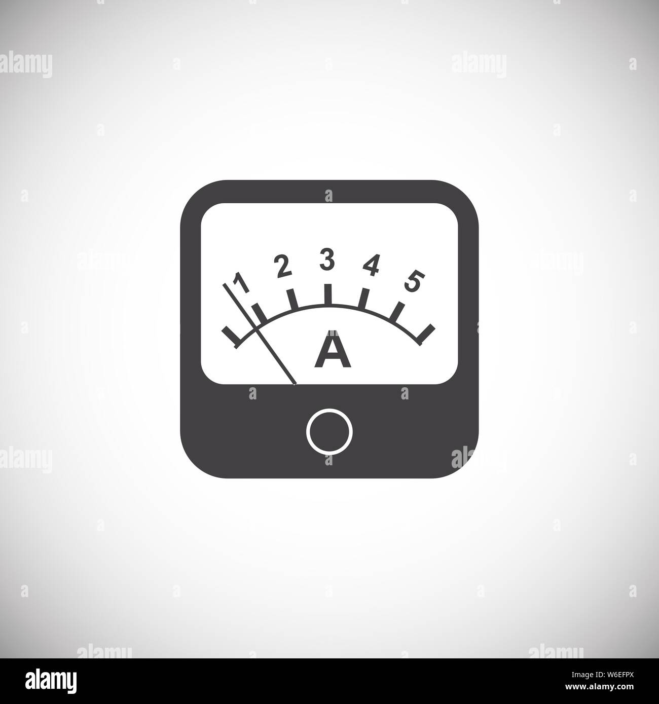 Measuring Tool Icon On Background For Graphic And Web Design Simple Illustration Internet Concept Symbol For Website Button Or Mobile App Stock Vector Image Art Alamy