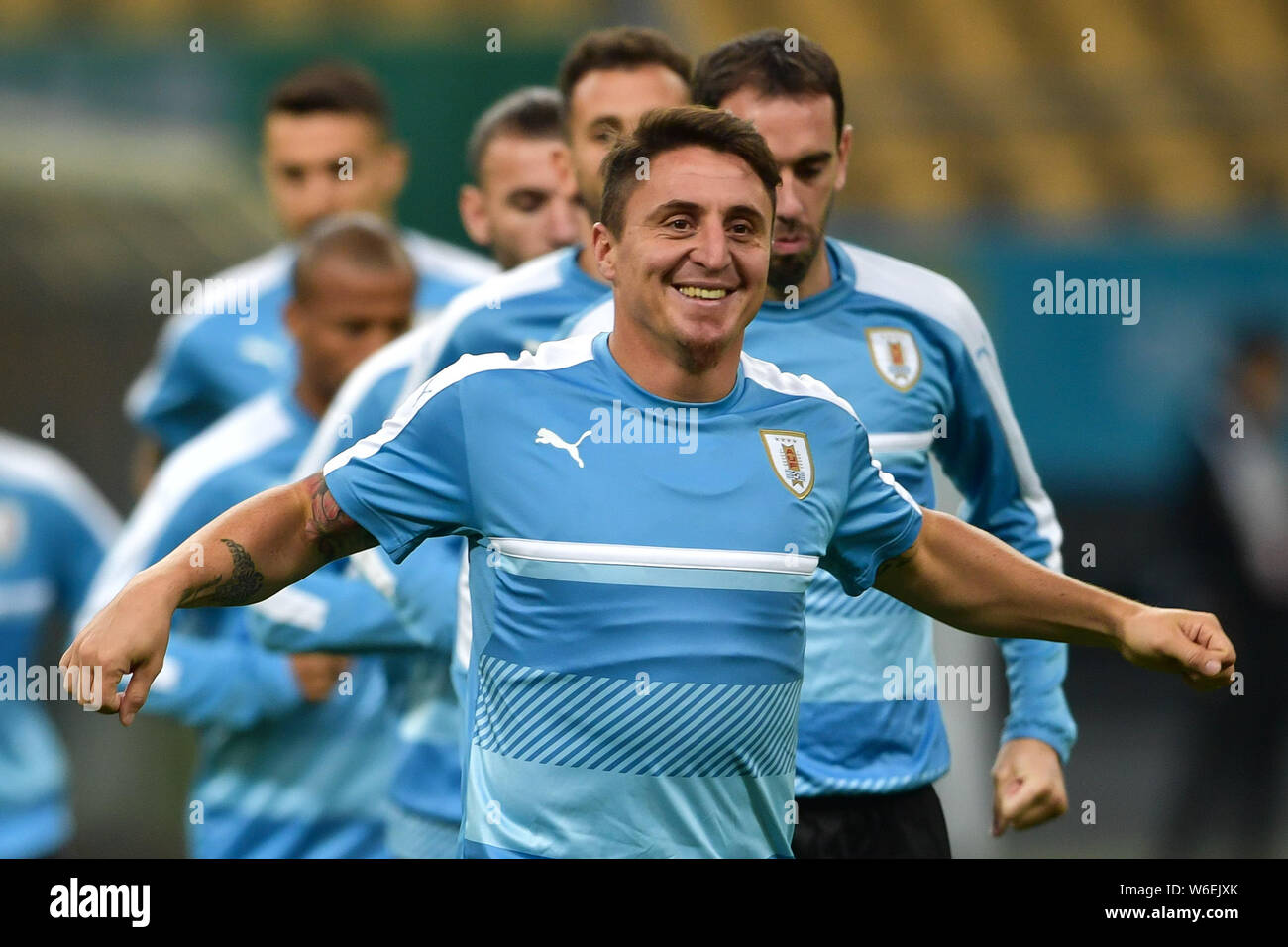 san francisco 1004e d10b5 Cristian Rodriguez of Uruguay national football team takes ...