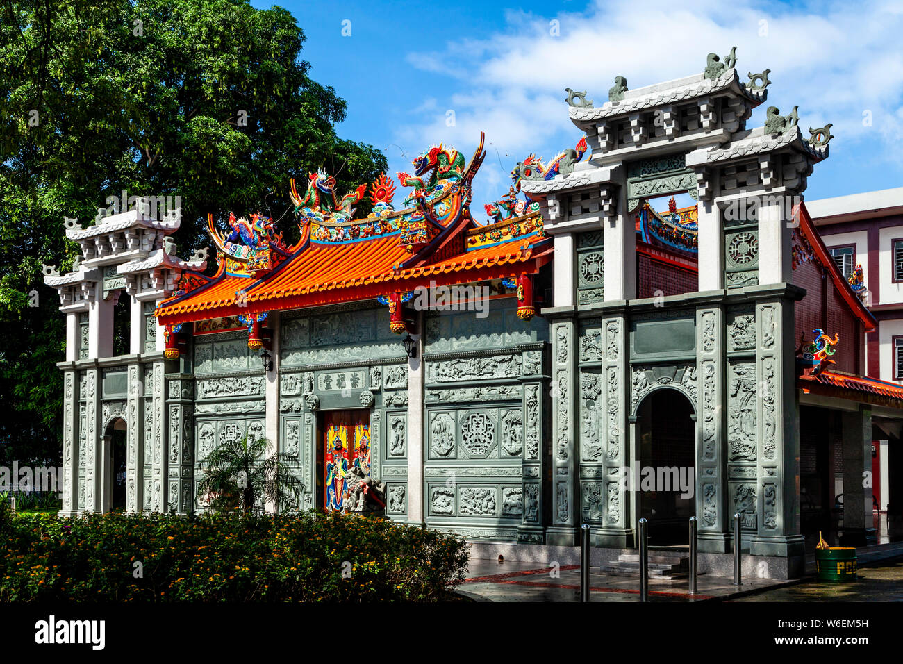 The Chinese Cemetery, Manila, The Philippines Stock Photo