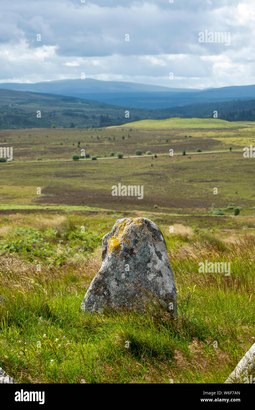 Ord Hill, Lairg, Sutherland, UK Stock Photo