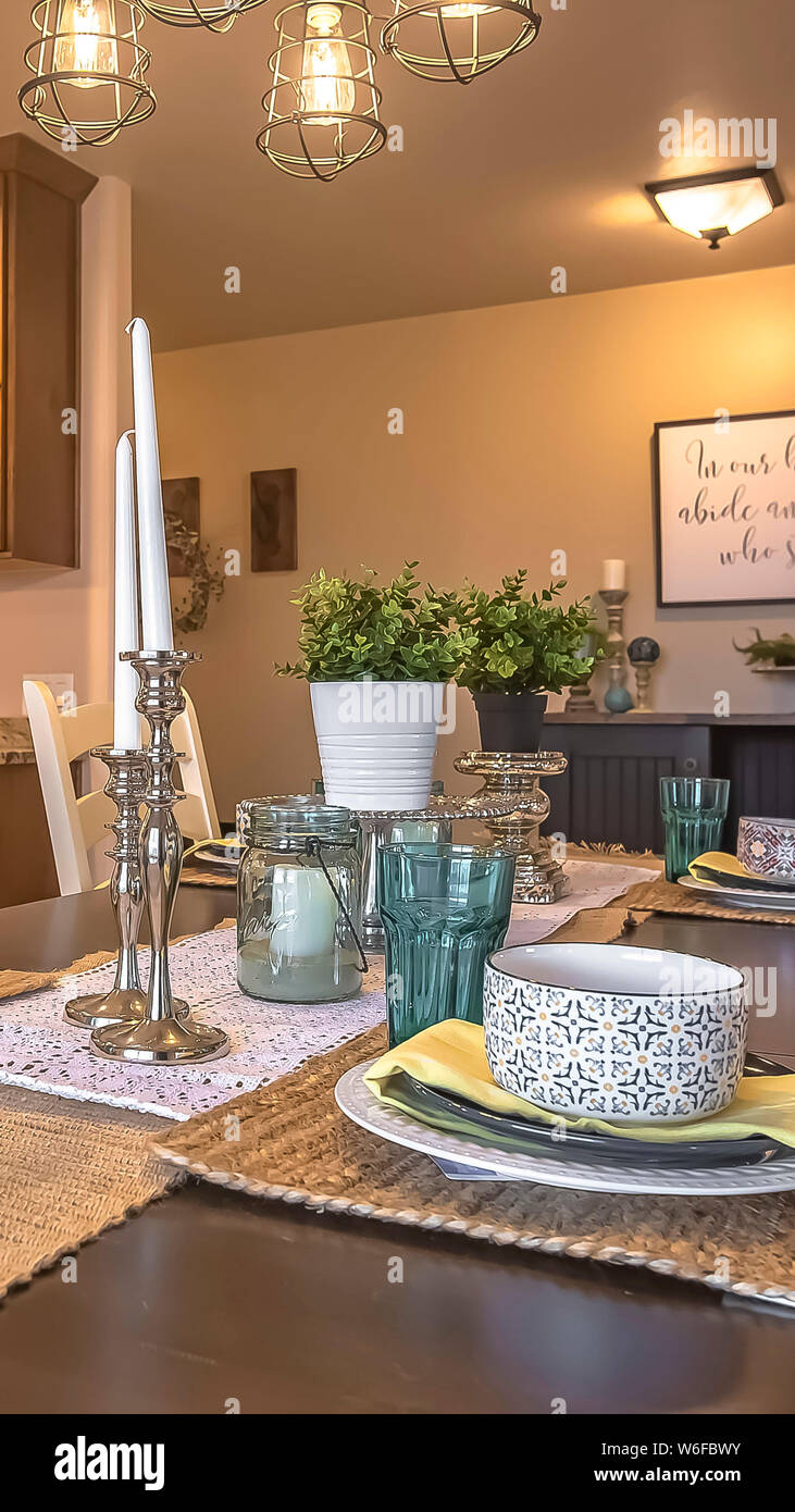 Magnificent Vertical White Chairs Around A Brown Dining Table With Hemp Lamtechconsult Wood Chair Design Ideas Lamtechconsultcom
