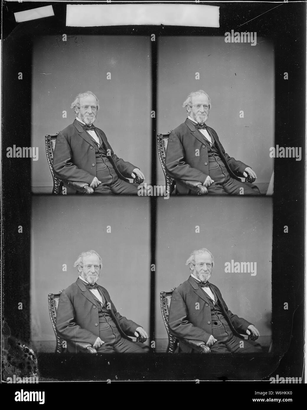 Hon. Henry S. Foote, Ala Stock Photo - Alamy