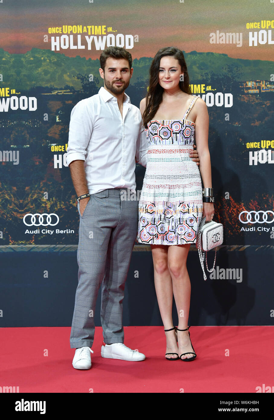 hollywood movie e 2019 Berlin Germany 01st Aug 2019 Lucas Reiber And Lea Van