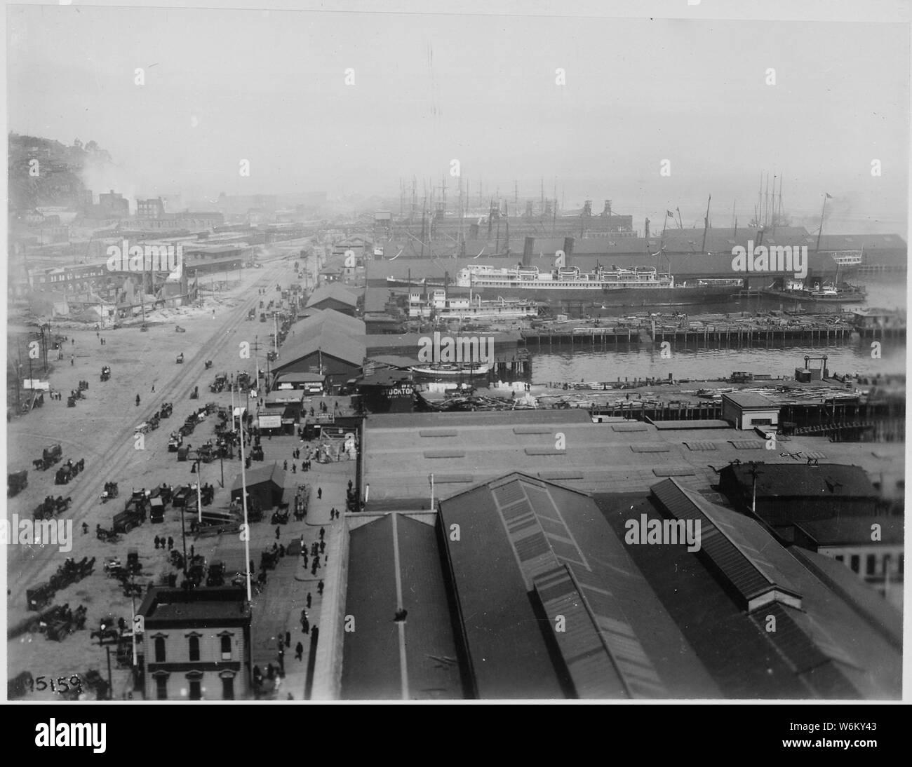 "Old Photo Santa Rosa Calif /""Northwestern Pacific Depot/"""