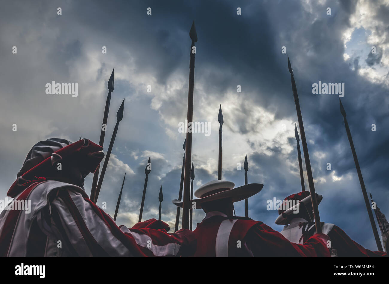 Holding Spear Stock Photos & Holding Spear Stock Images - Alamy