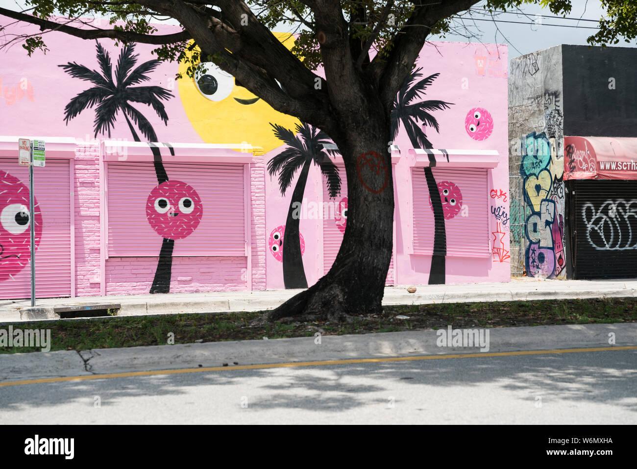 Wynwood Arts District, Miami Stock Photo