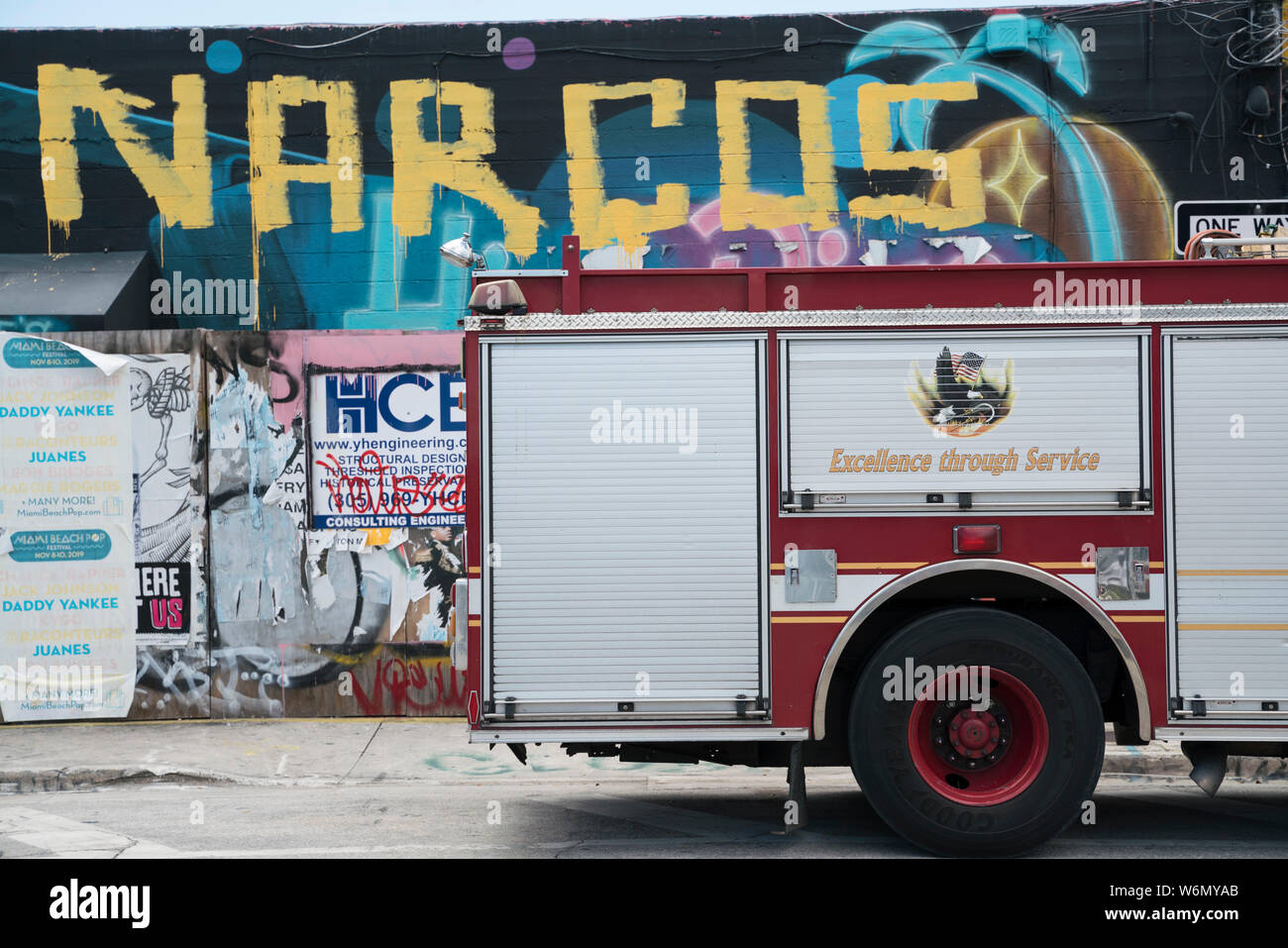 Wynwood Arts District, Miami Stock Photo