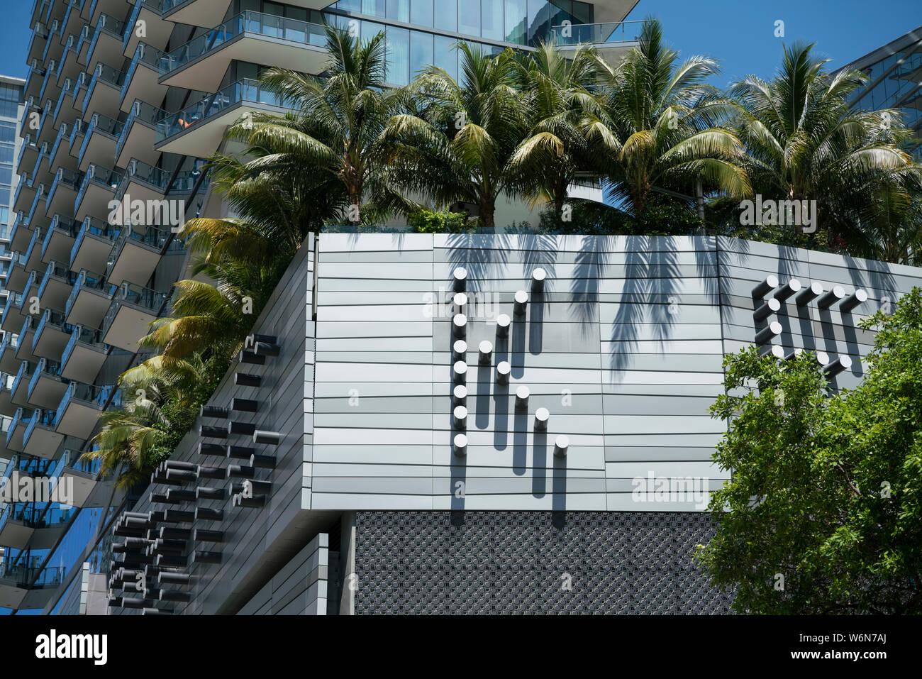 Brickell, Miami Stock Photo