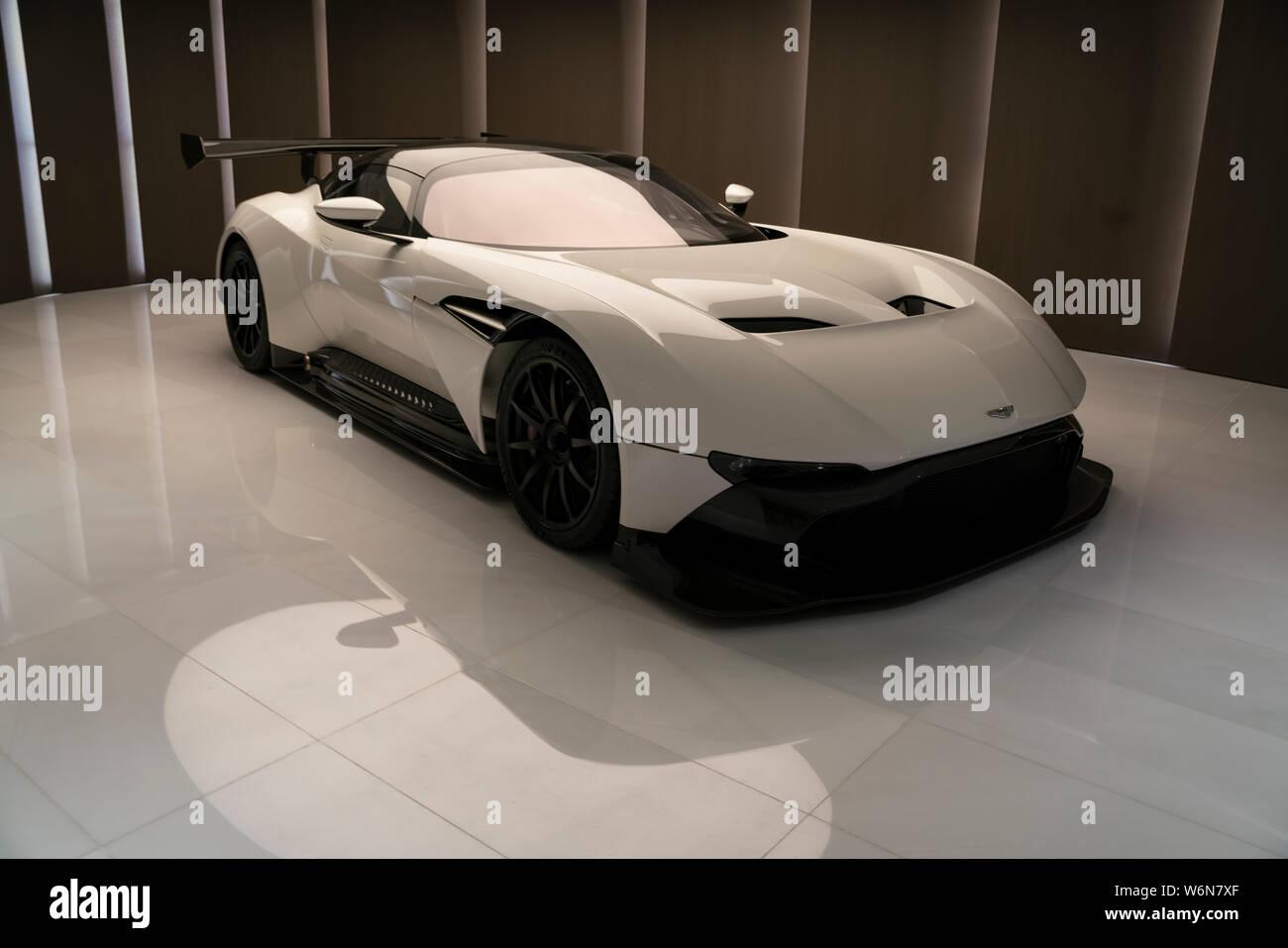 Aston Martin Residences Miami Stock Photo