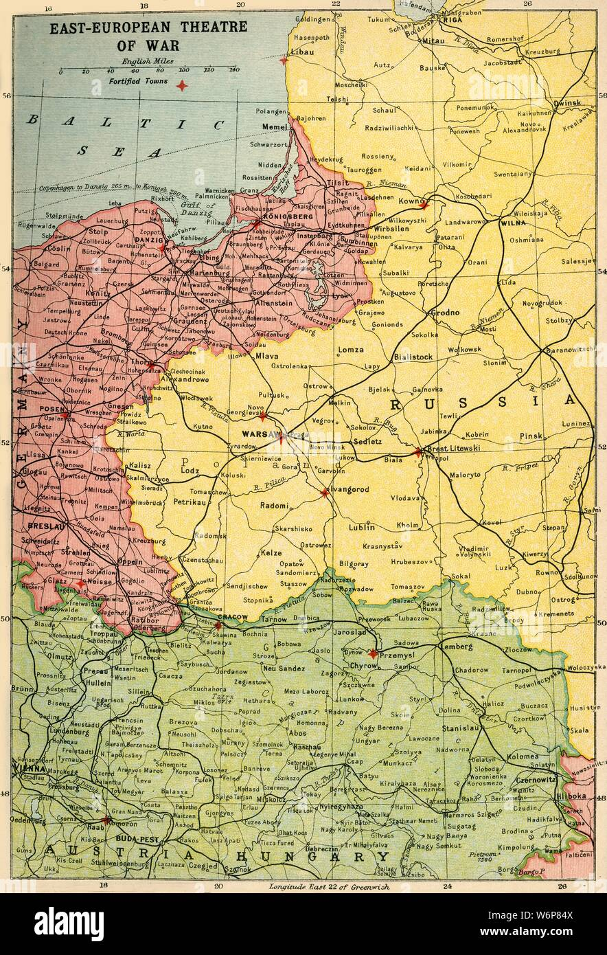 Map Of Germany In 1914.Map Europe 1914 Stock Photos Map Europe 1914 Stock Images Alamy