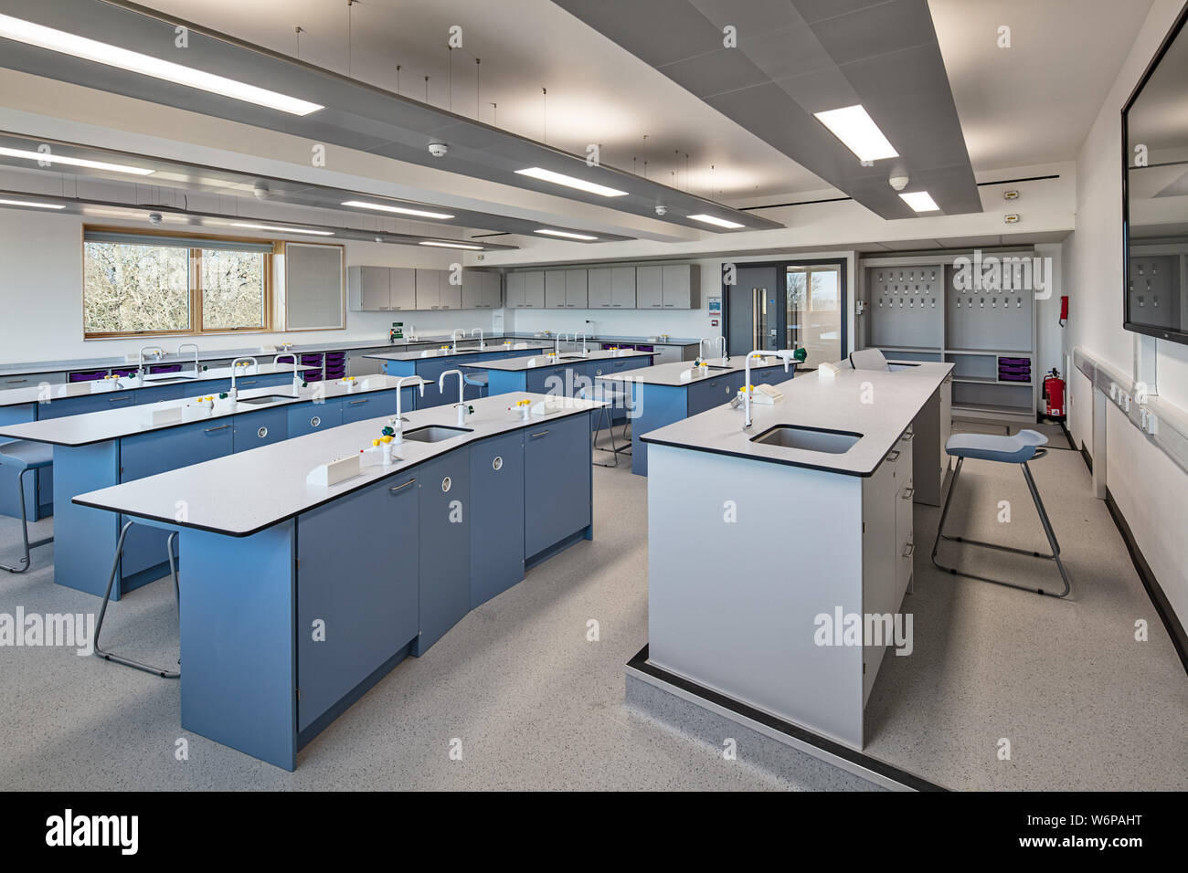 STEM (Science, Technology, Engineering and Maths) classroom at Ardingly College, Haywards Heath Stock Photo