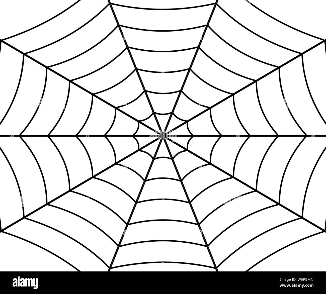 This is a photo of Bewitching Spider Web Template Printable