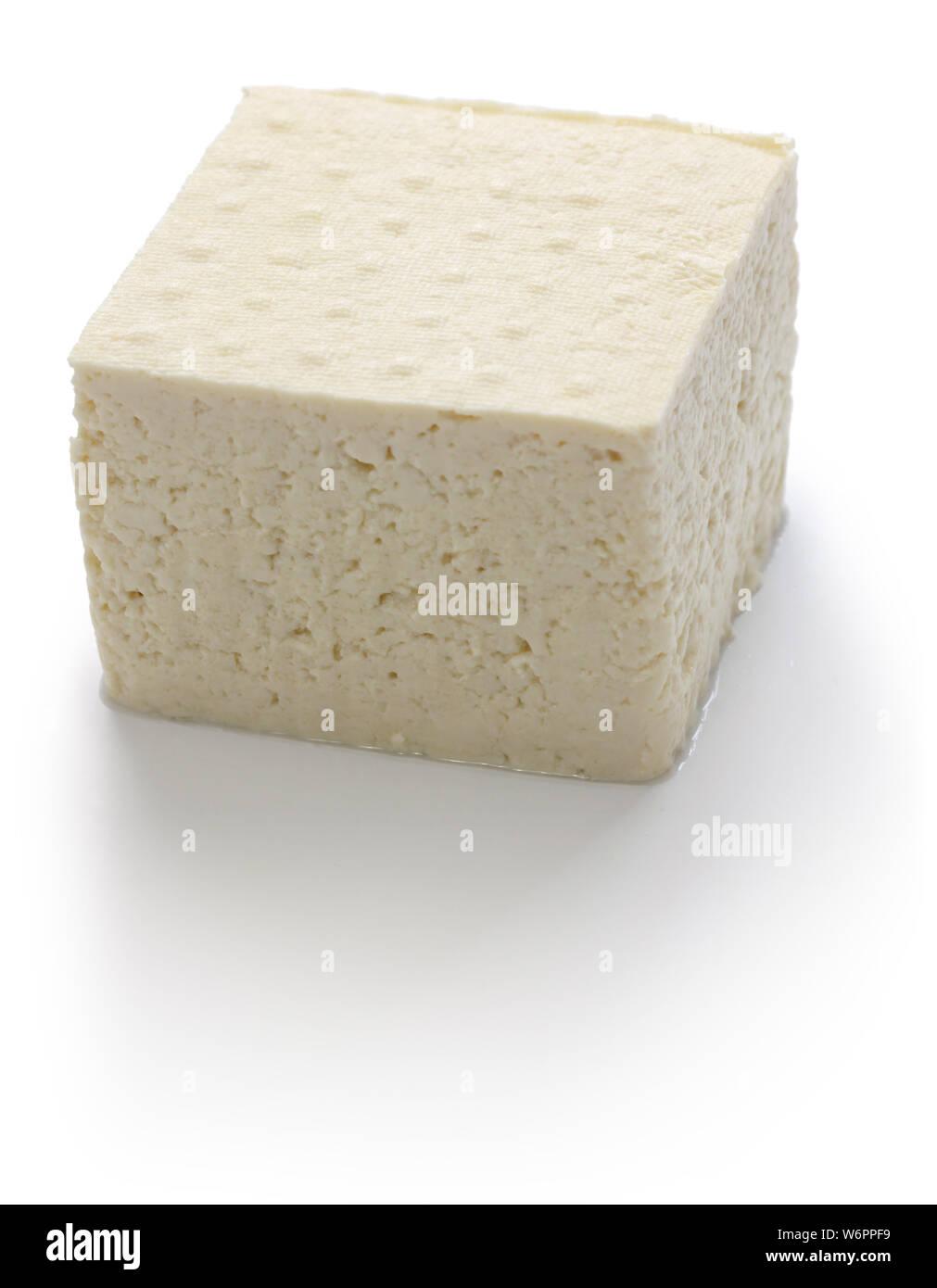 shima Tofu is a Japanese Okinawan Tofu. Stock Photo