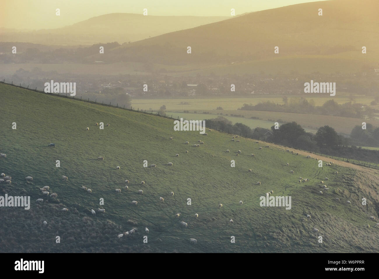 Steyning Bowl, South Downs National Park, West Sussex