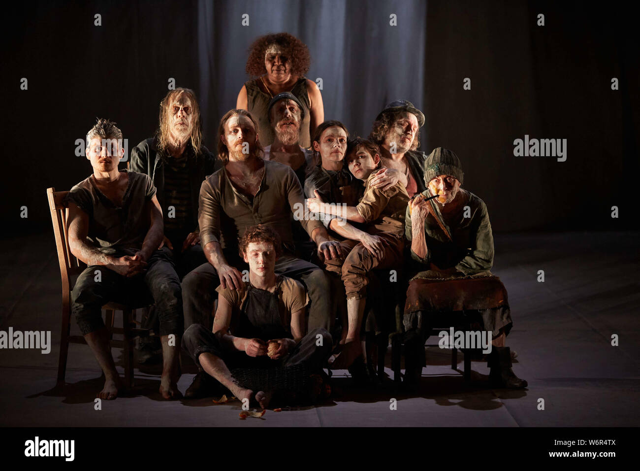 Edinburgh, Scotland. UK. 2nd August 2019. Press call The Secret River part of Edinburgh International festival 2019. Andrew Eaton/Alamy Live News. Stock Photo