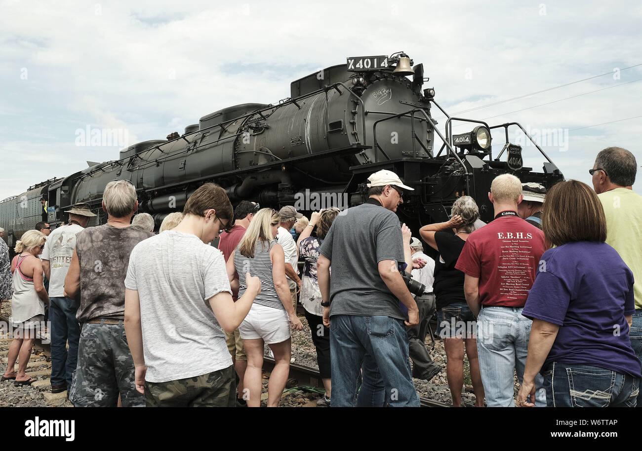 Big Boy Train Stock Photos & Big Boy Train Stock Images - Alamy