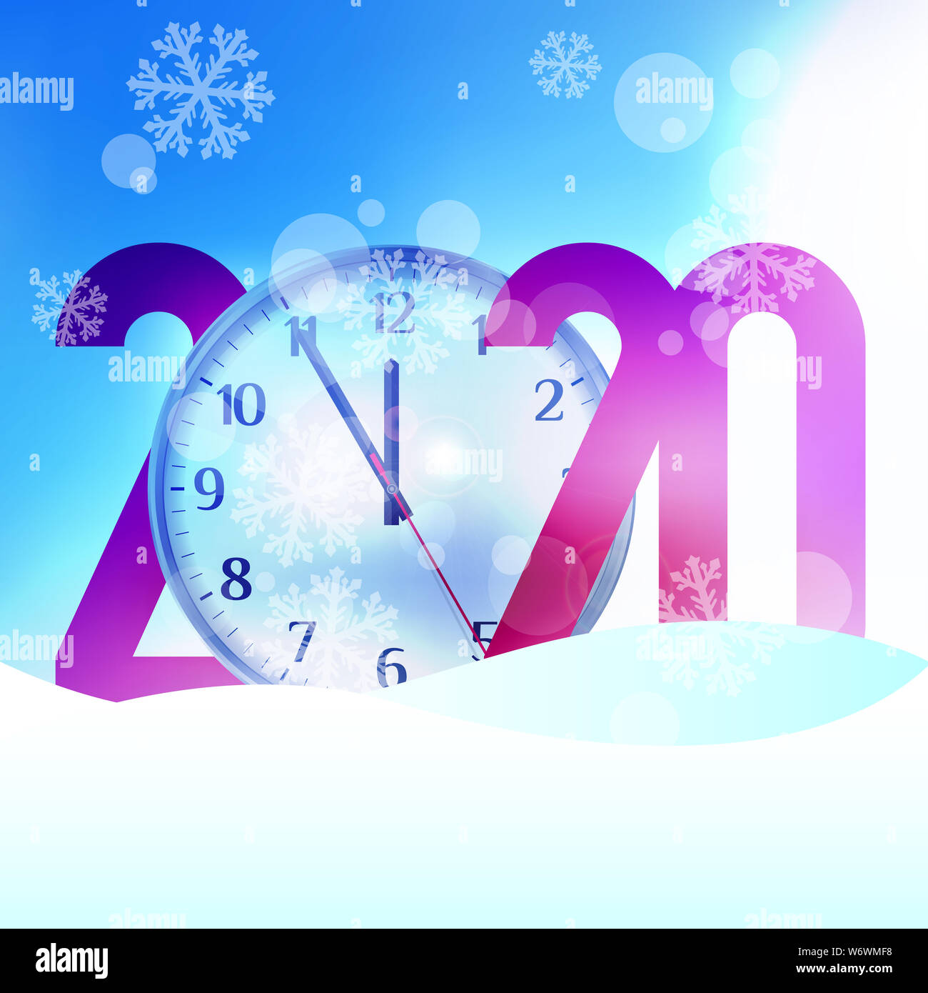 Merry Christmas And Happy New Year 2020 Background Template Christmas Greeting Card Illustration Stock Photo Alamy