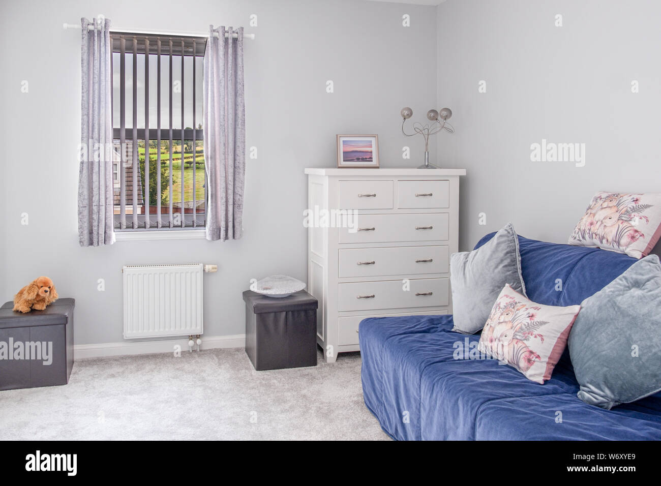 Peachy Small Spare Room In Modern Housing Developement With A Sofa Inzonedesignstudio Interior Chair Design Inzonedesignstudiocom