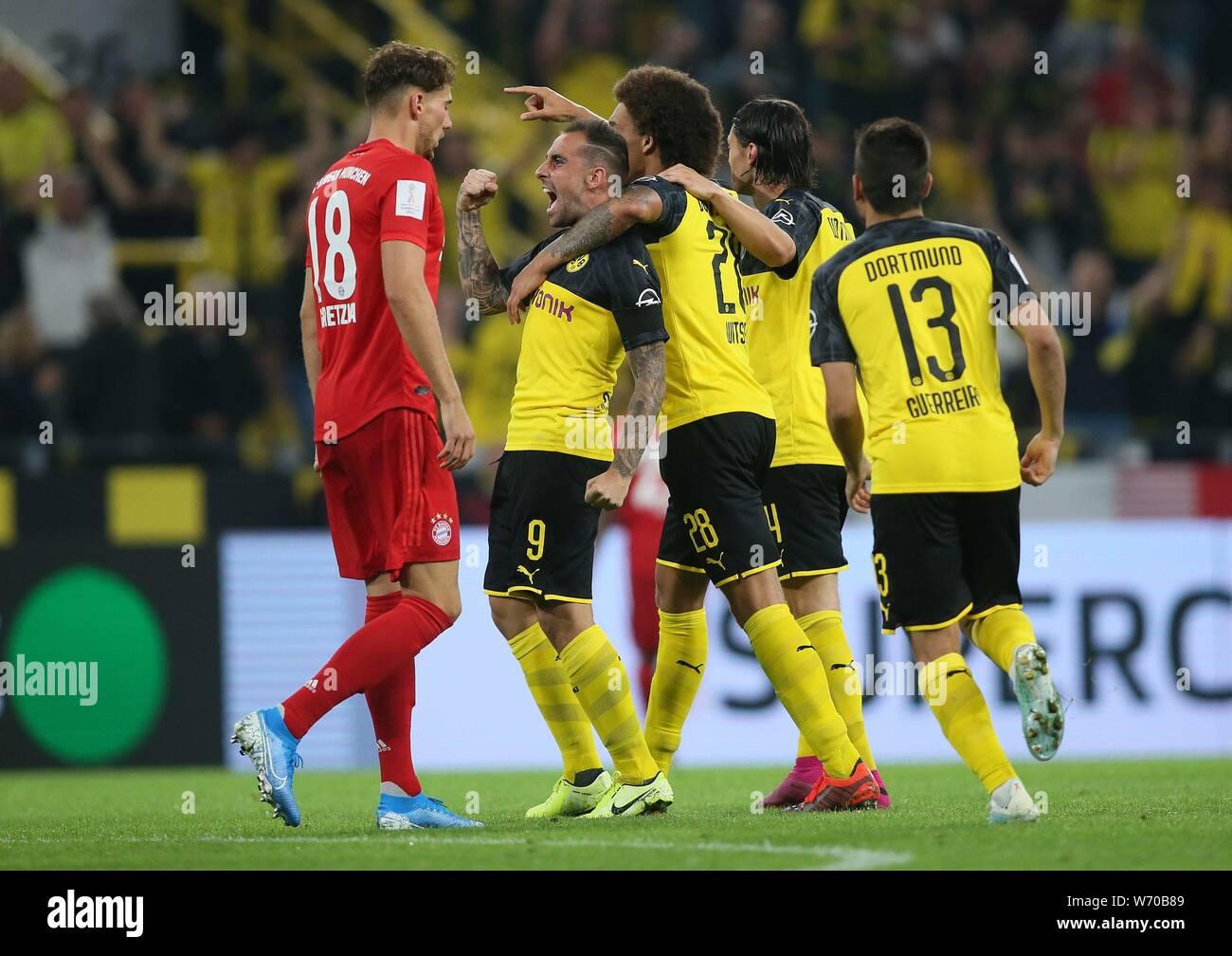 TICKET Supercup 2012 Bayern München Borussia Dortmund # Süd