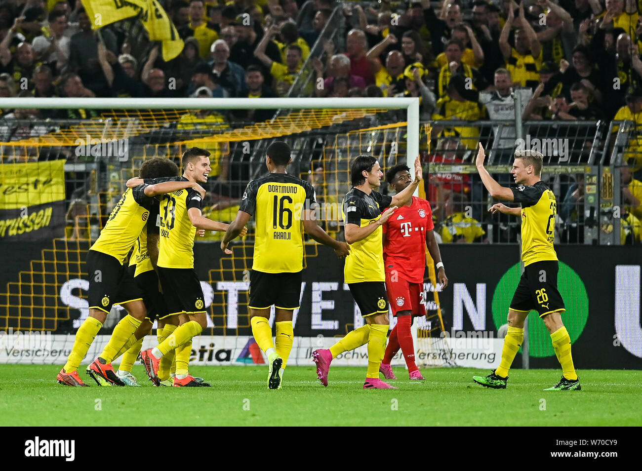 Paco Alcacer From Borussia Dortmund Celebrates After Scoring