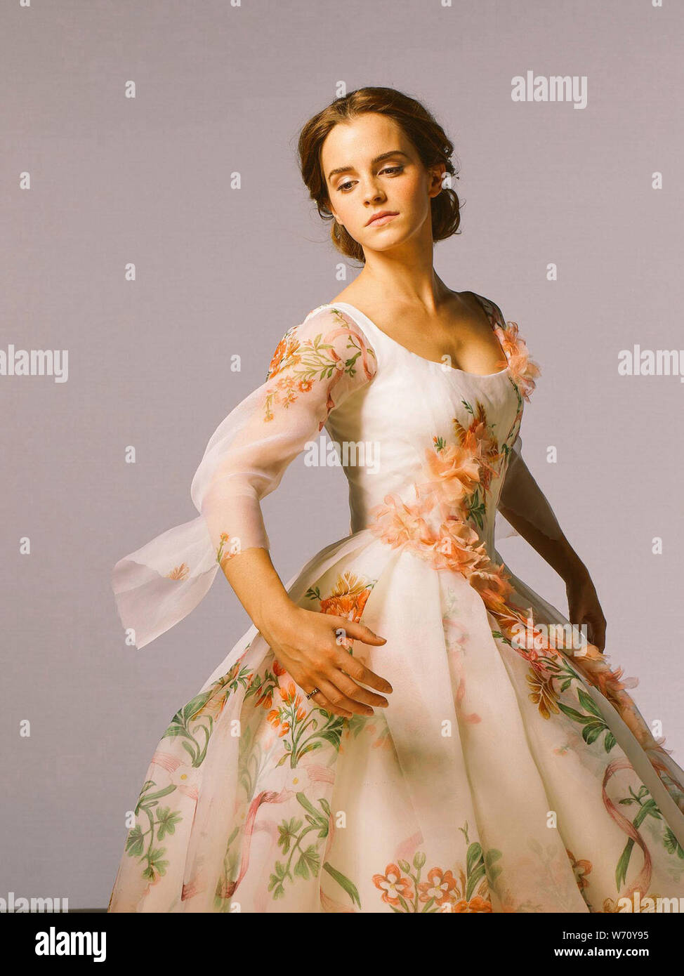 Emma Watson In Beauty And The Beast 2017 Directed By Bill Condon Credit Mandevilles Films Walt Disney Pictures Album Stock Photo Alamy