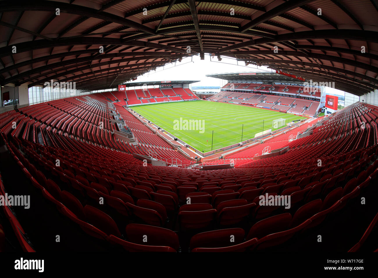 3rd August 2019, Bet365 Stadium, Stoke-on-Trent, England
