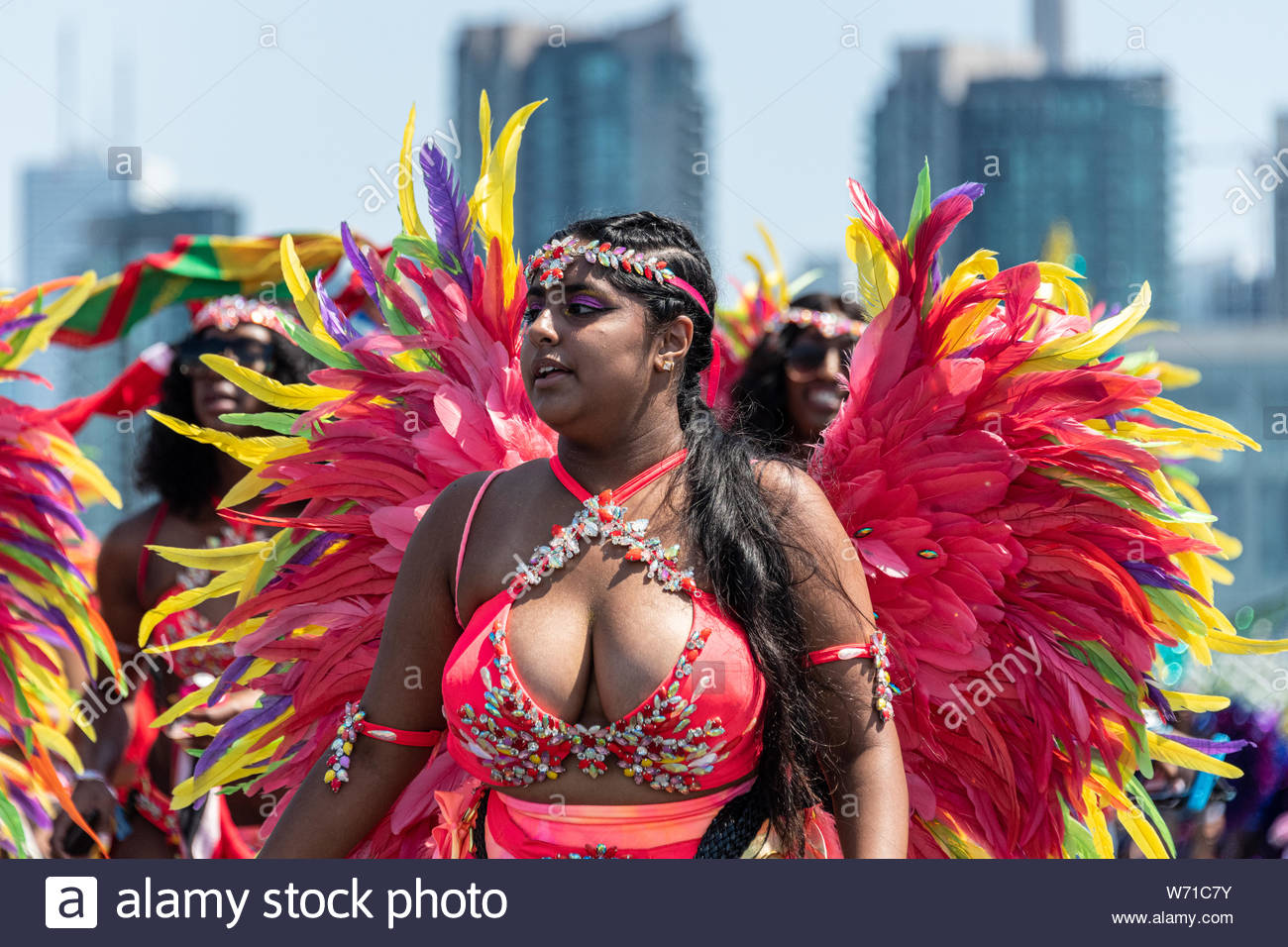 Caribana Parade In Toronto Stock Photos & Caribana Parade In
