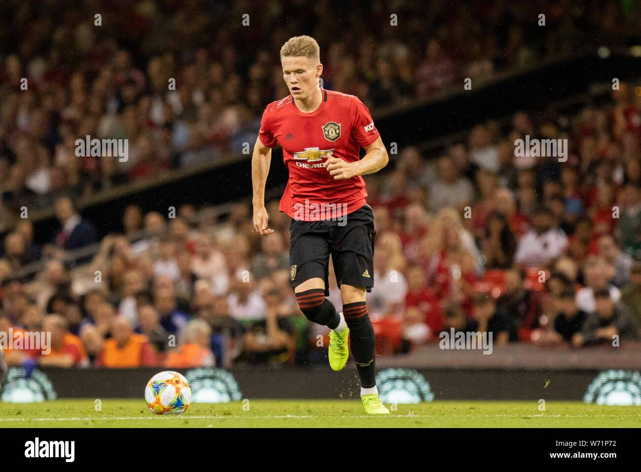 Manchester United International Champions Cup 2020.Mctominay Stock Photos Mctominay Stock Images Alamy