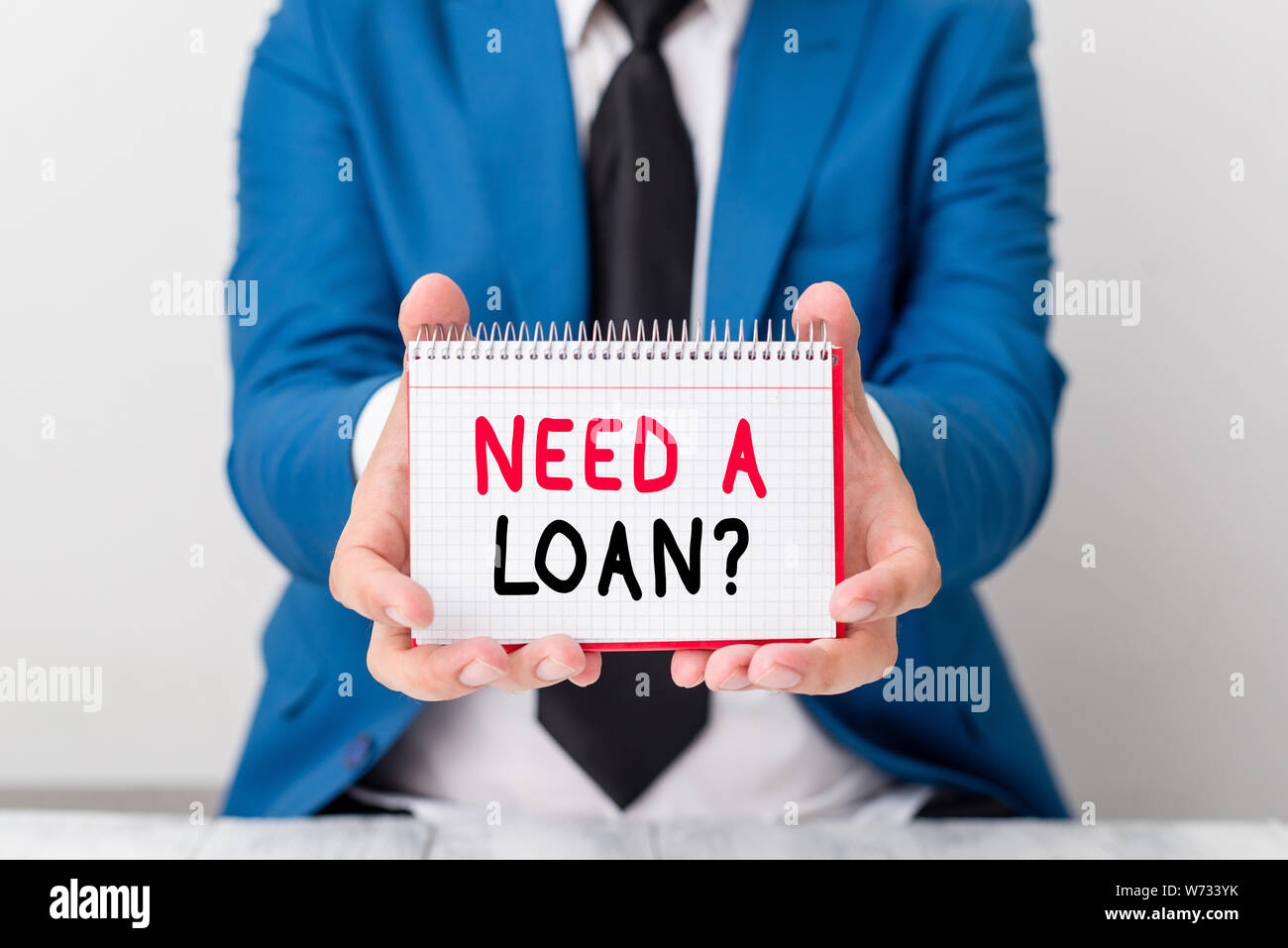 Handwriting text Need A Loan Question  Conceptual photo