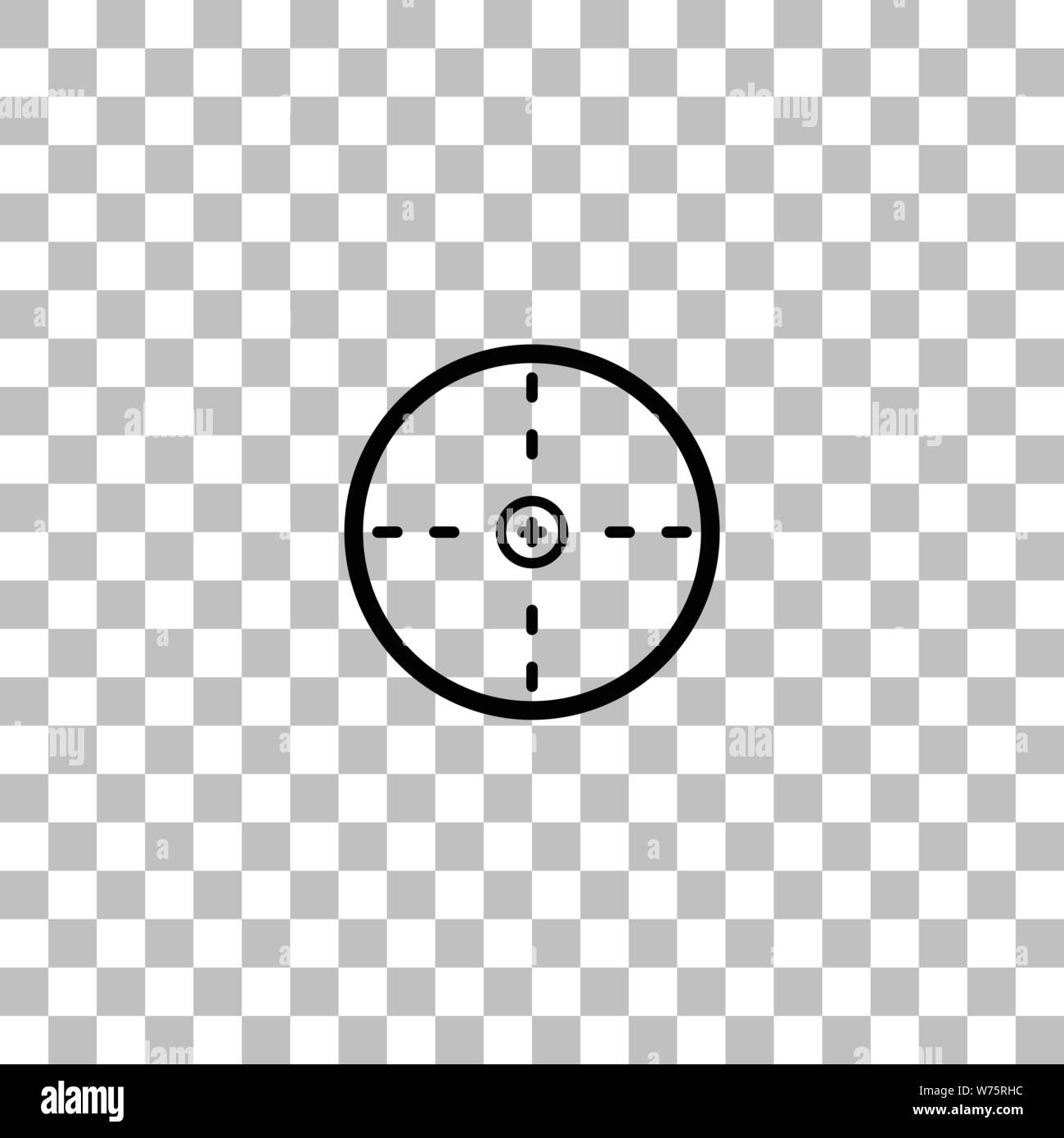 aim black flat icon on a transparent background pictogram for your project stock vector image art alamy https www alamy com aim black flat icon on a transparent background pictogram for your project image262586392 html